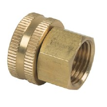 3/4in Female Garden Hose Thread x 3/4in Female Pipe Swivel