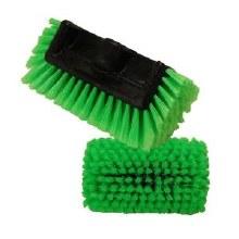 10in All Direction Nylon Bristle Brush, Green