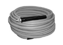 3/8in x 100ft, 2-Wire Hose @ 6000 PSI, Grey Non-Marking