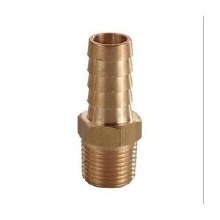 1/2in Extra Thick Hose Barb, Brass