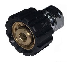 "M22 x 3/8"" FPT Twist Coupler"