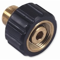 M22 x 3/8in MPT Screw Coupler