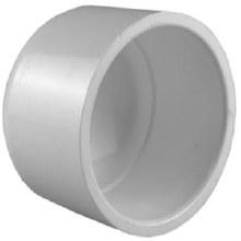 1-1/4in Pipe Cap, Sch 40 PVC