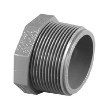 1-1/2in Threaded Plug, Poly