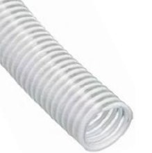 1-1/2in x 100ft Roll, Clear PVC Suction Hose