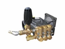 """AR RRV4G40D-F24 Plumbed Replacement Pump, 4.0 GPM @ 4000 PSI 1"""" Gas Flange"""