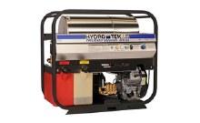 Hydro Tek SS30008HG, 7.3 GPM @ 3000 PSI, Hot Water Skid, Honda GX630, 12V, Stainless Steel Frame