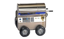 Hydro Tek HP35005E4, 4.3 GPM @ 3500 PSI, Portable Hot Water, Electric, 460V, 3PH, Diesel heated, Stainless Steel Frame