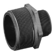 1-1/4in x 1in MPT Reducer Hex Nipple, Poly