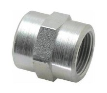 3/4in FPT Coupler, Steel
