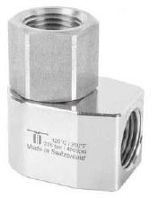 1/2in FPT Mosmatic Hose Reel Swivel, WDE, SS bolts, Brass Nickel Body, 90 DEG @ 4000 PSI