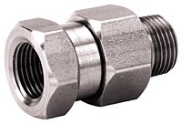 3/8in MPT x 3/8in FPT Swivel 90