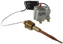 Probe Thermostat, 25 Amp 250V (70-250F @ 6000 PSI)