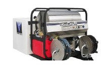 Hydro Tek Tanks Alot: Mobile Wash Skid with Water Tank & Surface Cleaner