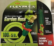 Flexzilla 5/8in x 100ft SwivelGrip Garden Hose