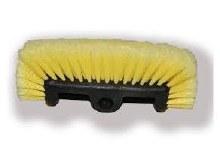 11in Multi-Surface Nylon Bristle Brush, Yellow