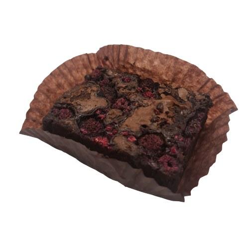 Organic Raspberry Brownie