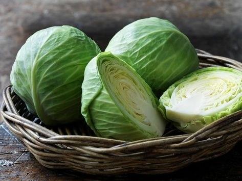Organic Cabbage (Half)