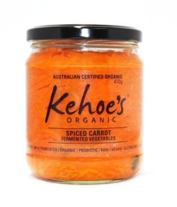 Organic Spiced Carrot Sourkraut