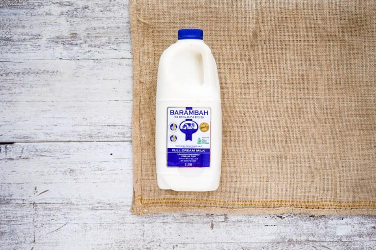 Organic Full Cream Milk