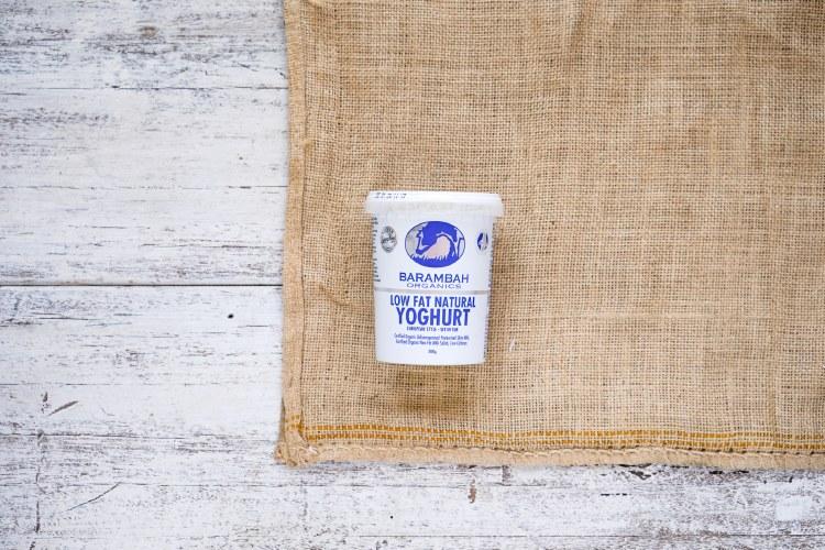 Organic  Low Fat  Natural Yoghurt