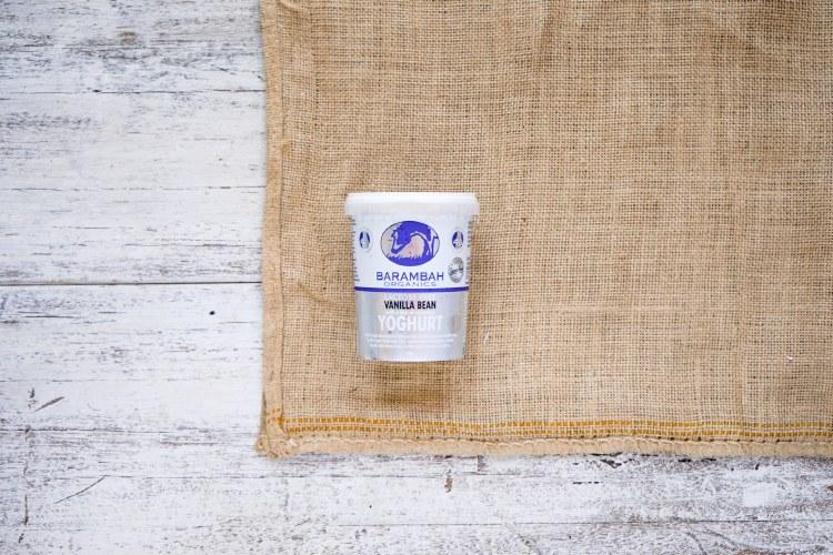 Organic Vanilla Bean Yoghurt
