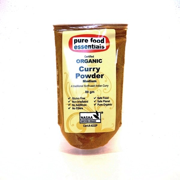 Organic Curry Powder (Medium)