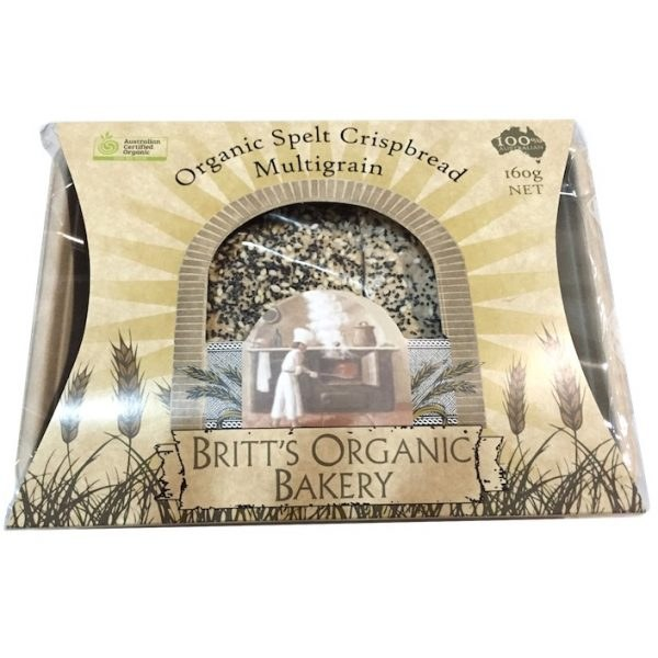 Organic Multigrain Crispbread