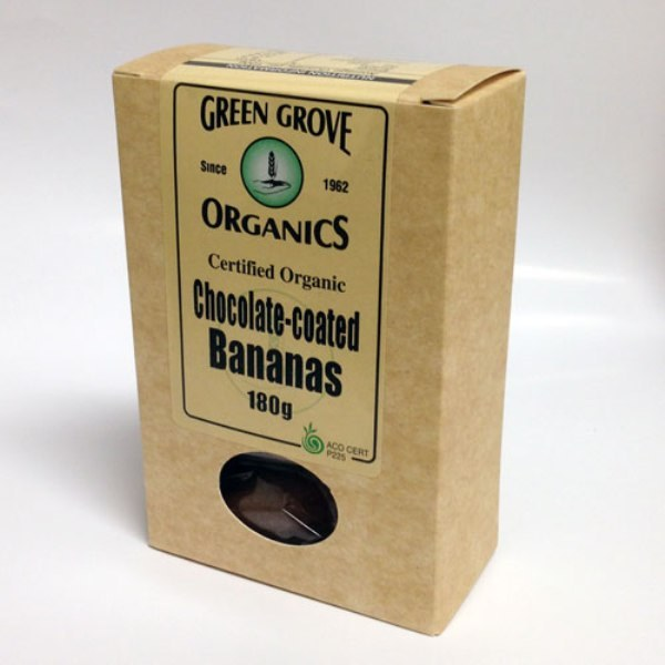 Organic Chocolate Bananas