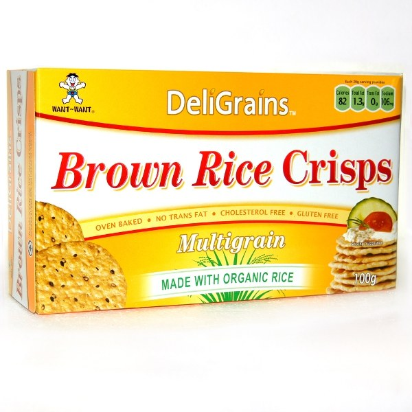 Organic Rice Crisp Multigrain