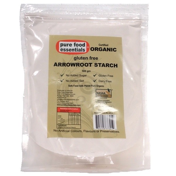 Organic Arrowroot Starch