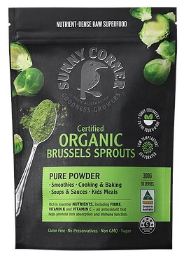 Organic Brussel Sprout Powder
