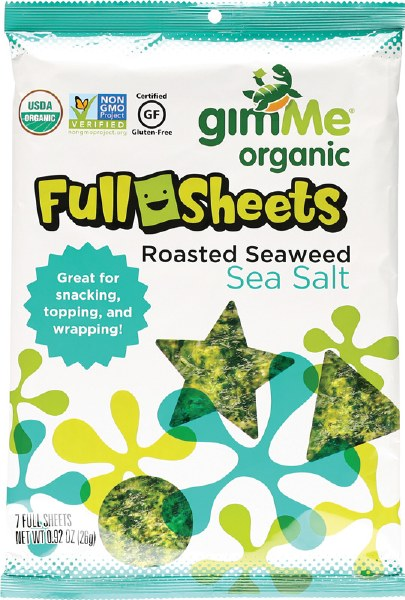 Natural Roasted Seaweed Sheets