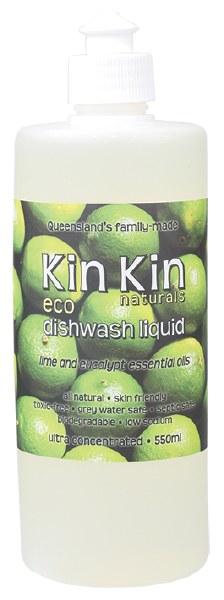 Natural Lime & Eucalyptus Dishwashing Liquid