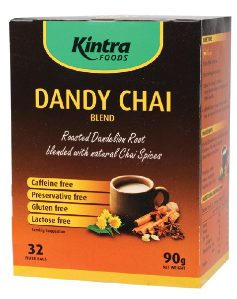 Natural Chai & Roasted Dandelion Tea Bags