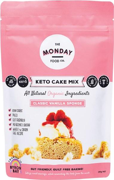 Keto Cake Mix Classic Vanilla Sponge 250g
