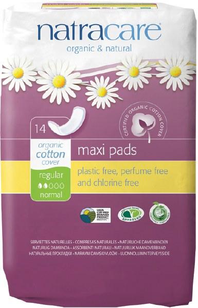 Natural Maxi Pads (Regular)