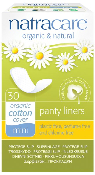 Natural Panty Liners (Mini)