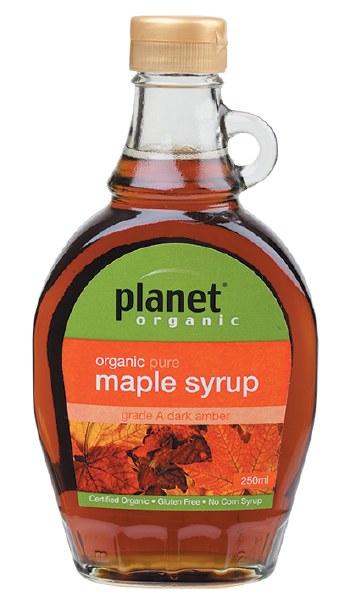 Organic A Grade Maple Syrup