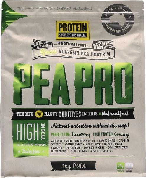 Organic Raw Pea Protein