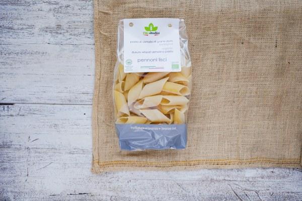 Organic Pasta Pennoni Lisci