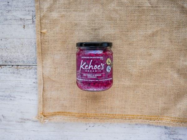 Organic Beet & Ginger Kraut