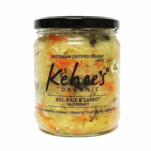 Organic Kale & Carrot Kraut