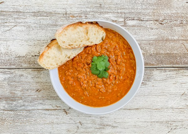 Organic Red Lentil Curry Soup