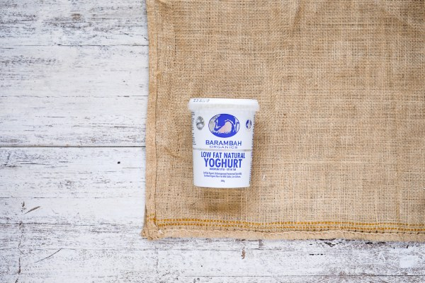 Organic  Low Fat  Natural Yoghurt