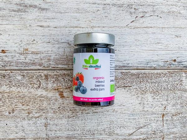 Organic Mixed Berries Jam