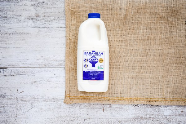 Organic Full Cream Milk2L