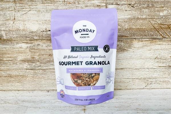 Organic Paleo Macadamia & Cranberry Muesli