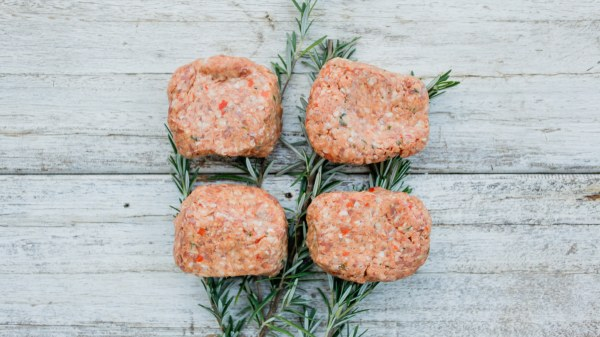 Organic Onion & Beef Burgers