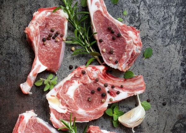 Organic BBQ Lamb Chops